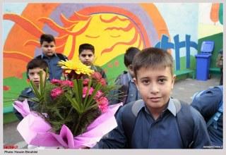 اندر حکایت من و دانش آموزانم امروز (اول مهر )